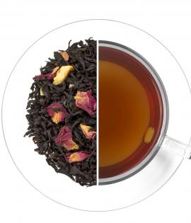 Újévi kívánság fekete tea