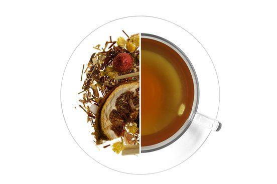 Citromfüves ribizli Zöld rooibos tea termék képe