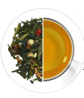 Csípős románc ízesített zöld tea termék képe