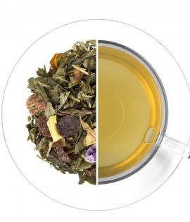 Friss málna ízesített zöld tea termék képe