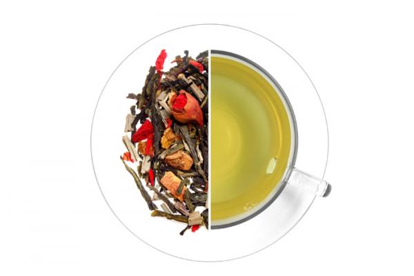 Gránátalma ízesített zöld tea termék képe