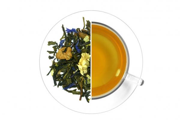 Havas románc ízesített zöld tea termék képe