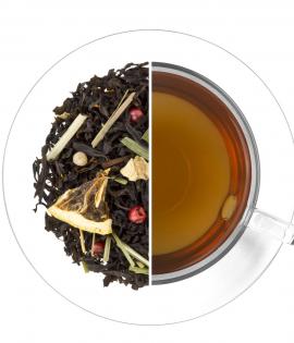 Heves ölelés ízesített fekete tea