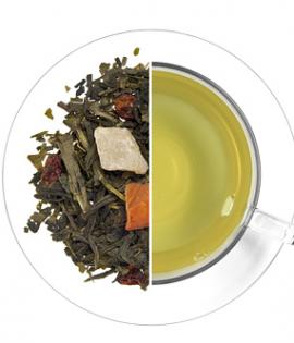 Homoktövis ízesített zöld tea termék képe