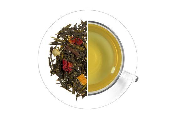 Karácsonyi meglepetés ízesített zöld tea termék képe