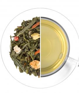 Kis Buddha ízesített zöld tea termék képe