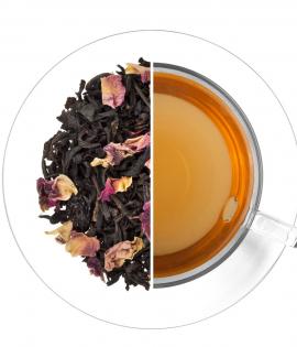 Rózsák kertje ízesített fekete tea