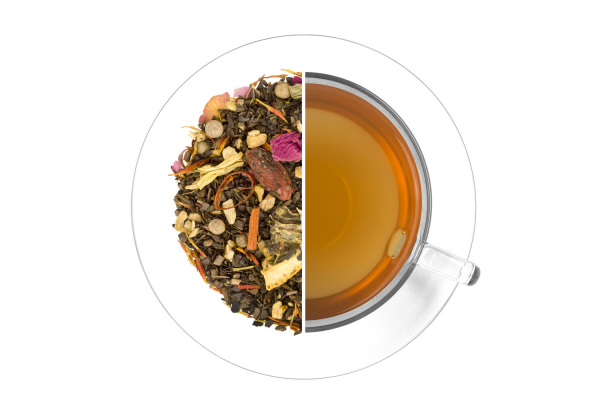 Sámán tüze mate tea