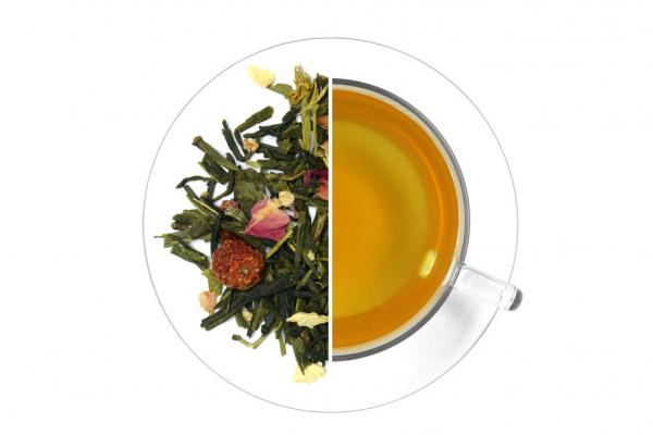 Sakura cseresznye ízesített zöld tea termék képe