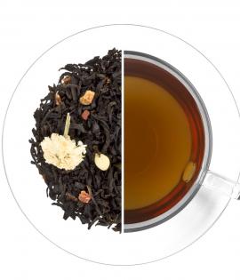 Tejszines eper fekete tea