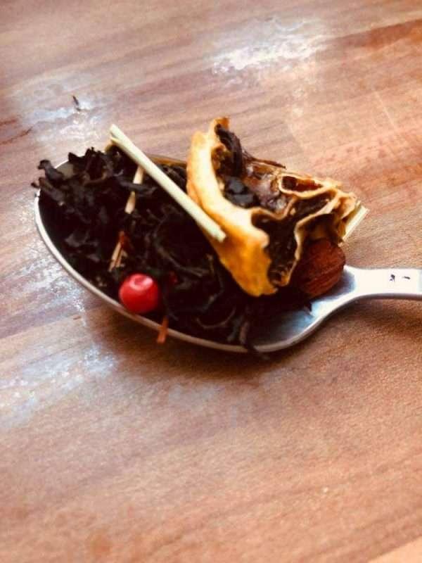 heves ölelés ízesített fekete tea saját kép2