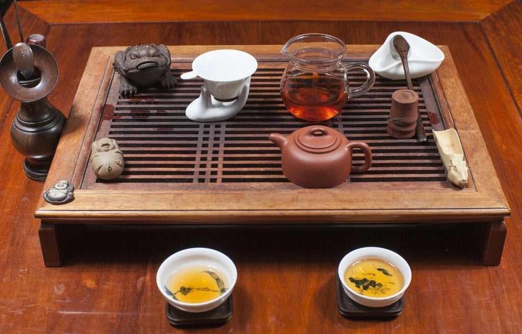 A kínai teaszertartás minden eszközének fontos funkciója van