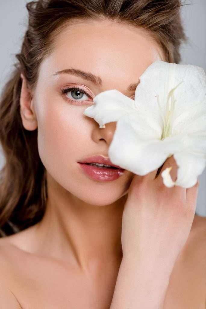 Gyönyörű arcbőr hibiszkusz teával
