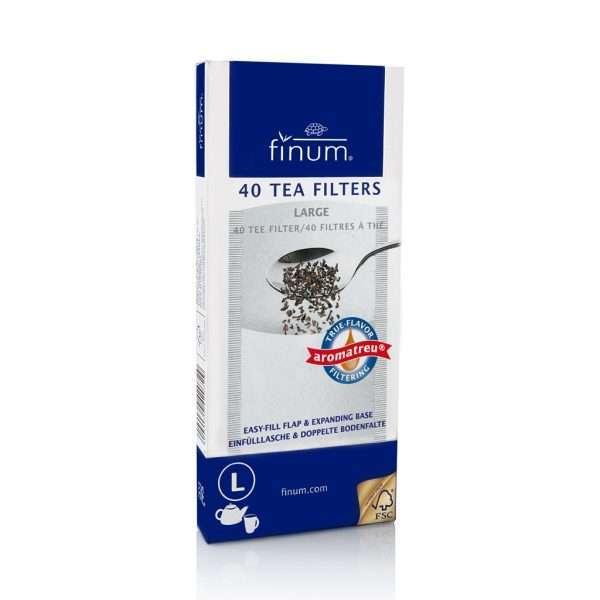 Finum Teafilter L méret tea kiegészítők