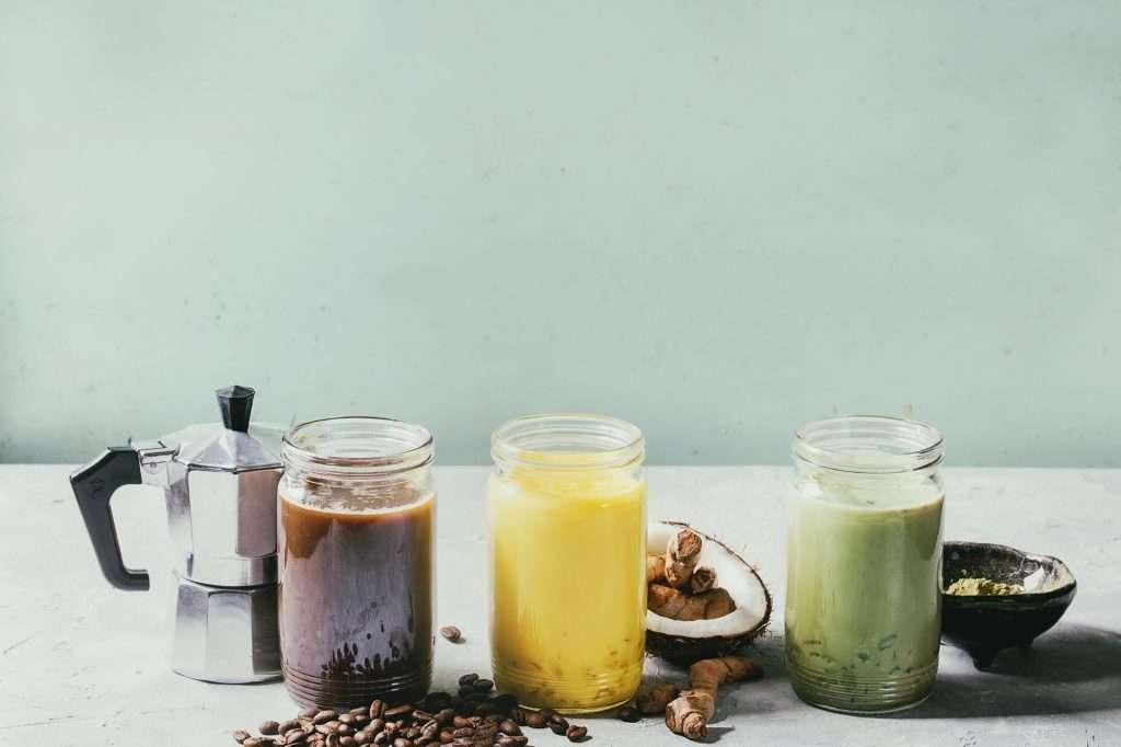 Kávé helyett kurkuma latte vagy matcha latte