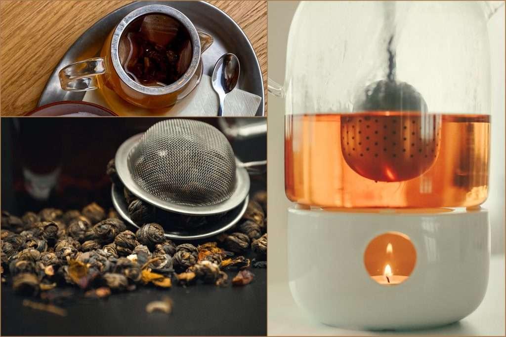 Teatojás és fém szűrő gyertyás vízmelegítőben