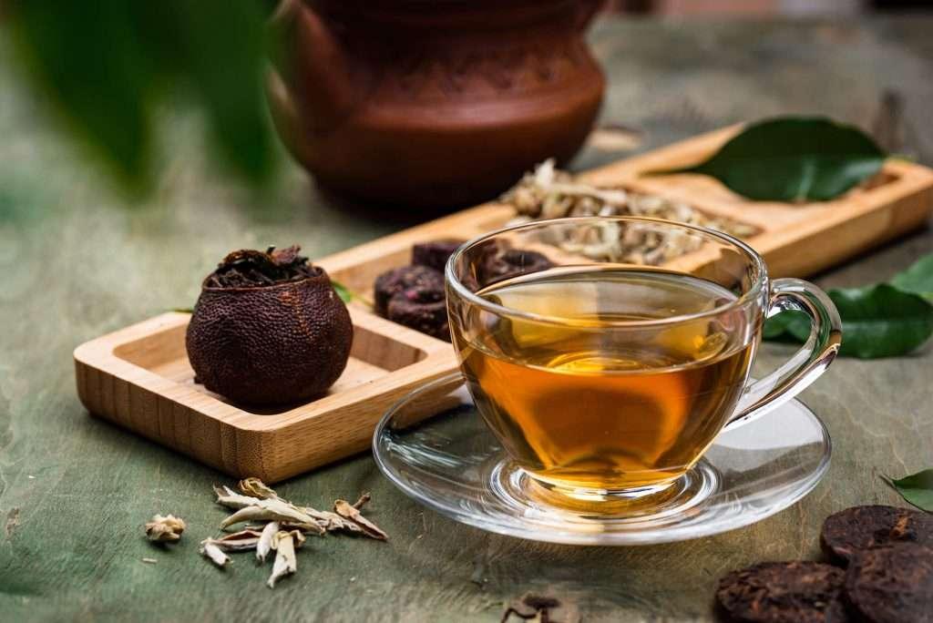 different pressed chinese pu erh tea YVE5GGH 1