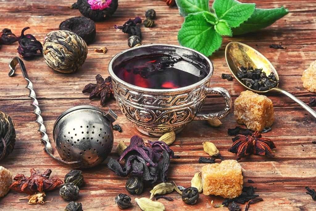 tea and kitchen herbs PHESG3G